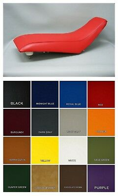 HONDA TRX400EX Seat Cover  1999 - 2007 in RED or 25 COLOR OPTIONS