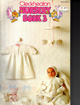 Cleckheaton Nursery Book 3   baby knitting patterns