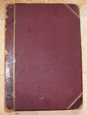 Large Mid Victorian Scrap Album/Scrapbook (1880/1890's) - Wonderful Scraps