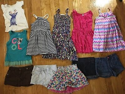 Large Lot Of Girls Clothes Size 4 4/5 Miscellaneous Mixed Spring Summer