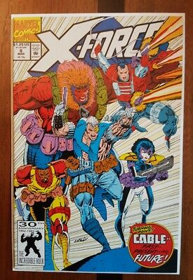 X-Force 8 ~VF/NM Marvel comic Domino Cable