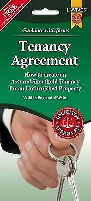 Unfurnished Tenancy Agreement Form Pack (England & wales) (Loose . 9781907765544