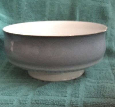 """DISCONTINUED DENBY Blue CASTILE PATTERN CEREAL / SOUP 5 5/8"""" Exc condition"""