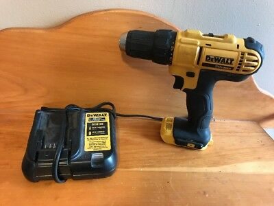 Dewalt DCD771 20V 1/2'' Cordless Drill Driver with charger but NO battery.