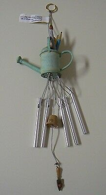 Hallmark Marjolein Bastin WATERING CAN WIND CHIME Mini NEW Gardening Tools