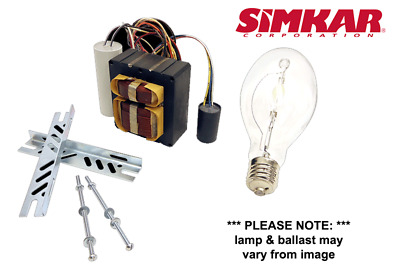 Simkar RK 100W Mercury Vapor 4Tap Retrofit Lamp & Ballast Kit 1st Quality NEW