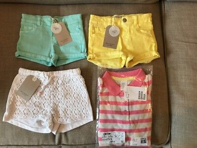 Baby Girl Summer Clothes Bundle New With Tags 9-12 Months And 12-18 Months