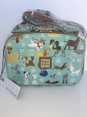 Disney Dogs Dooney and Bourke Ambler Crossbody Purse Bag  Year Of The Dog