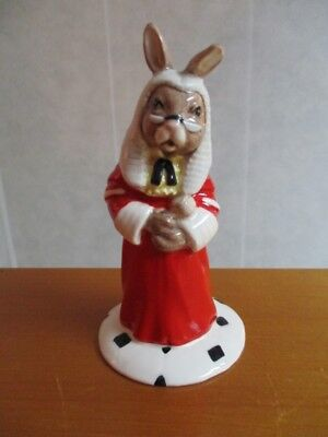 "Royal Doulton Bunnykins Judge DB188 Collectors Club 4-1/2"" 1998  PERFECT"