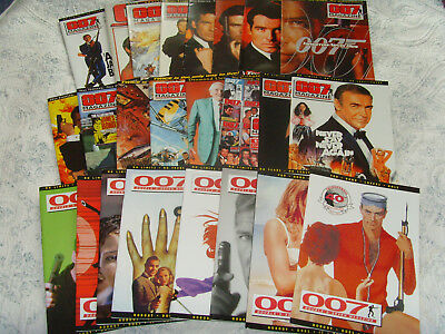 Total of 23 James Bond 007 Magazines-Issue's 27 to 48 + Special Ltd Edition.