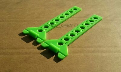 2 x Tingle brick wall building string line holder twigs use with corner blocks