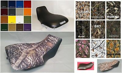 Yamaha Grizzly 660 Seat Cover 2002 - 2008  in 25 COLORS & CAMO PATTERNS  (ST)