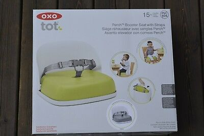 OXO Tot Perch Booster Seat with Straps, Grey