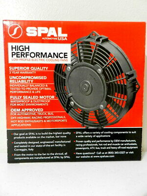 13In ; For Use W// 15Amp Fuse at 13V 1 Pack Spal 30100399 Pusher Fan