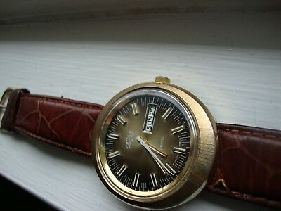 Vintage Vulcain Automatic Day&date As 2068 Swiss Made