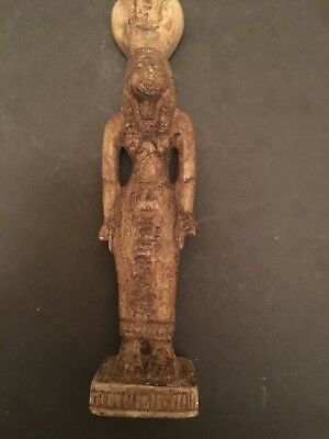 Rare Ancient Egyptian Brown Queen Tetisheri 18th Dynasty