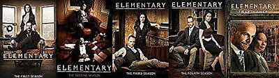 :Elementary: The Complete Series Season 1-5 DVD Set,New & Free Shipping!