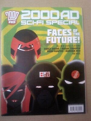 2000 AD special progs: 40th Anniversary, Summer Special, Winter Special