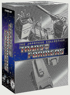:Transformers The Japanese Collection Complete TV Series 1-4  Boxed DVD Set,New!