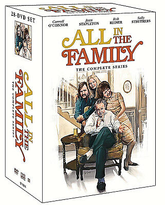 :All in the Family The Complete Series Seasons 1- 9,DVD Disc Box Set,New!