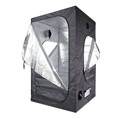 100% Mylar 600D reflective Non Toxic Grow Tent With 3 doors For Indoor
