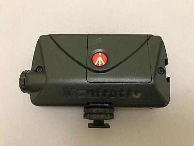 Manfrotto LED Adjustable Light - Black - Mint Condition