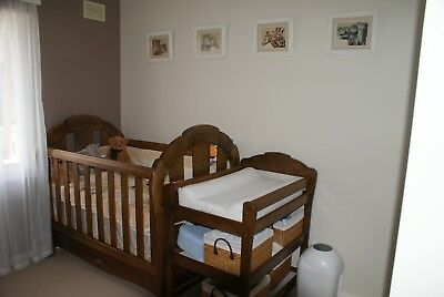 Love N Care Nursery Set (Cot, Change Table & Tallboy)