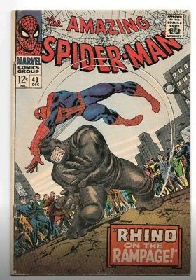 The Amazing Spider-Man #43 (Dec 1966, Marvel)