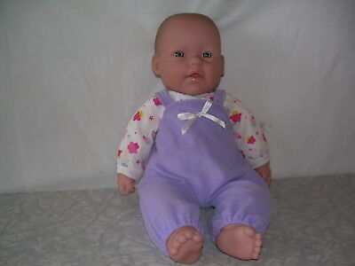 """16"""" Berenguer Baby Doll Vinyl Head,arms,legs, soft body 2pc. outfit, ex. cond."""
