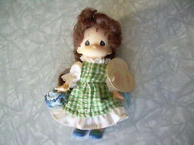 "7"" Precious Moments Doll, All Porcelian, hanging Tags 1998, #1619, VG Cond."