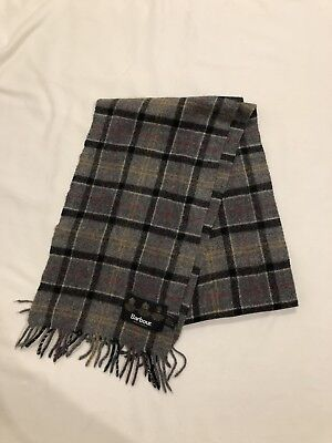 Barbour scarf, brand new, wool and cashmere, unworn RRP £80.00