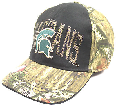 timeless design bc2a2 9d2a8 Michigan State Spartans TOW Mossy Oak Country Camouflage Memory Flexfit Hat  Cap Socket Sets