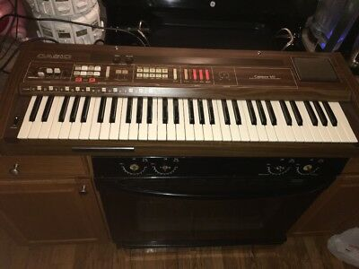 Vintage Rare Casio 70s Casiotone 601 Synthesizer Keyboard Electronic Piano