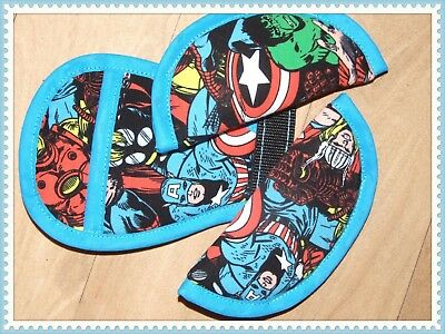Maxi-Cosi Cabriofix Chest/shoulder/Crotch Pads marvel turquoise
