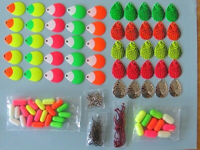 1,180 Piece Walleye Spinner Kit, Make Your Own Walleye Rigs