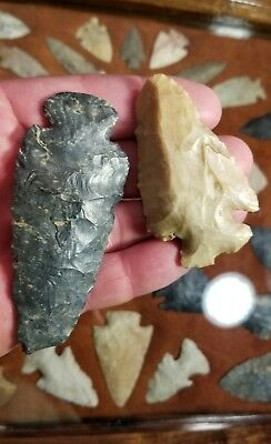 Authentic Arrowheads Ohio Dovetails  Indian Artifacts Stone Tools
