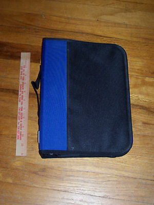 """Storage case wallet CD DVD discs 40 sleeves with room for more 12"""" x 9"""" x 2.5"""""""