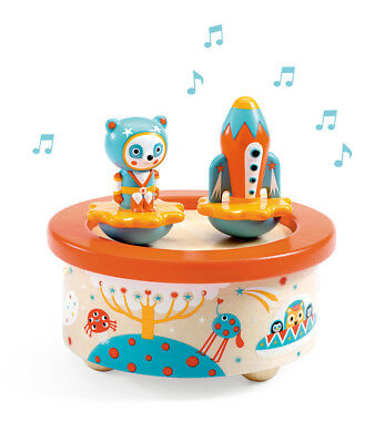 Djeco Space Melody Magnetic Wind Up Music Ornament