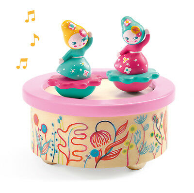 Djeco 'Flower Melody' Magnetic Wind Up Music Ornament