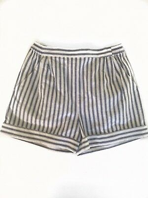 Zimmermann Girls Zephyr Stripe Shorts Size 8 NWT