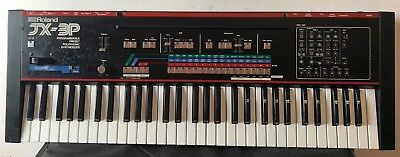Roland JX-3P JX3P Vintage Polyphonic Analogue Synthesiser Kiwitechnics modified