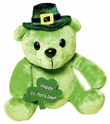 Amscan Shamrock In' St. Patrick's Day Party Leprechaun Bear Plush Pack Of 1 G...