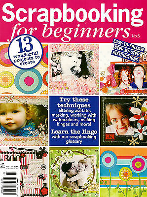 Scrapbooking For Beginners No 5. Magazine 2010. Free Papers