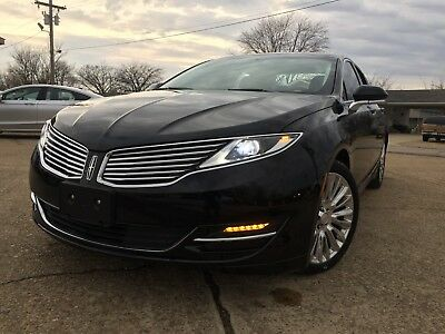 2016 Lincoln MKZ/Zephyr  2016 Lincoln MKZ MKX SALVAGE REPAIRABLE REBUILDABLE WRECK WRECKED BLACK LABEL