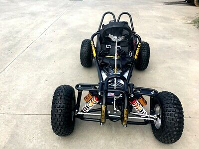 Offroad 9Hp 270Cc Go Kart Single Seat Adult Buggy Quad Atv Suspension Wet Clutch