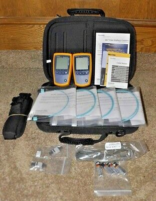 Fluke Networks MultiFiber Pro MFTK1200 Basic Fiber Test Kit MPO - ***MINT***