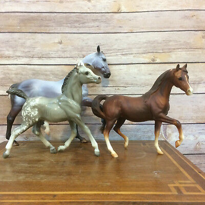 Breyer Lot of 3 Bodies Esprit Body To Passage CAM Glossy Gray Running Foal