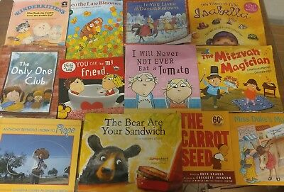 Lot of 50 K-5 Scholastic Learn to Read Picture Mix Set Kid Children Book #G23 NR