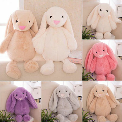Bunny Plush Toys Creative Doll Soft Baby Rabbit Cute Animals Birthday Gifts UK