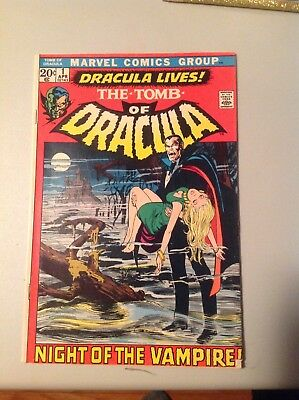 The Tomb of Dracula #1 Marvel Comic